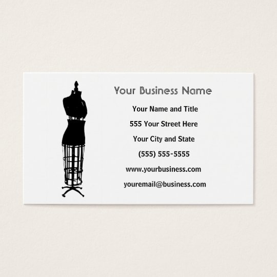 Custom Business Cards - Seamstress
