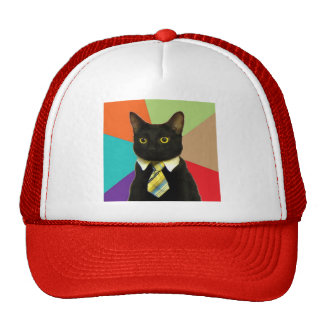 Custom Business Cat Hat