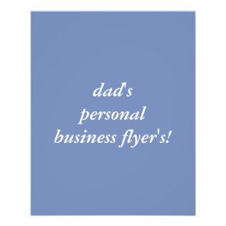 custom business flyer's 11.5 cm x 14 cm flyer
