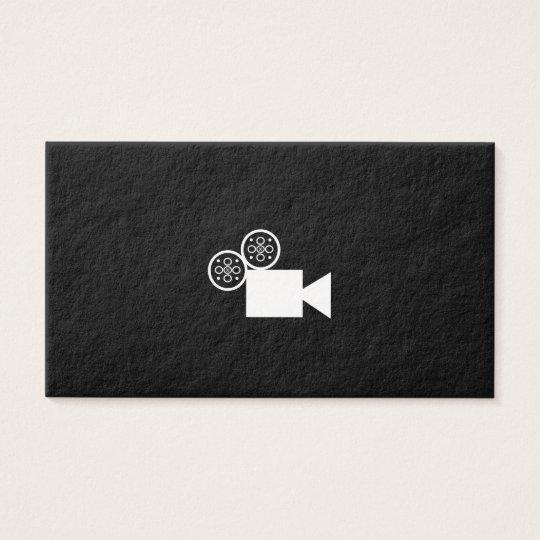 Custom Camera business card (black)