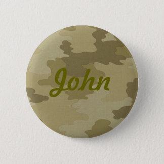 Custom Camouflage Button
