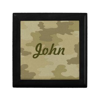 Custom Camouflage Gift Box