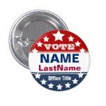 Custom Campaign Template 3 Cm Round Badge