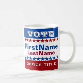Custom Campaign Template Coffee Mug