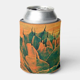 Custom Can Cooler - Sonoran Cactus in Orange