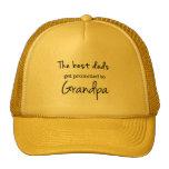 Custom Cap-Best Dad's Get Promoted to Grandpa Cap