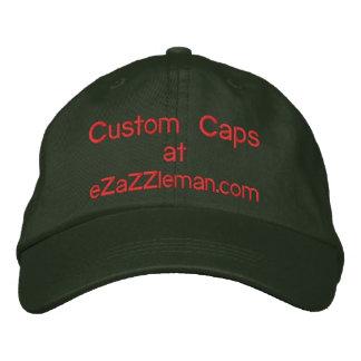 Custom Caps @, eZaZZleman.com Baseball Cap