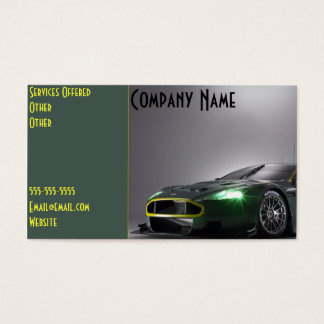 Custom Car Business Card