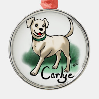 "Custom ""Carlye"" Ornament"
