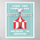 CUSTOM Carnival Event Poster