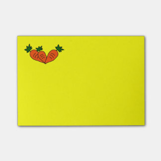 Custom Carrot Post-It-Note Post-it® Notes