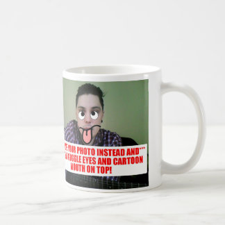 Custom Cartoon-ize your photo! Guide in descrip Coffee Mug