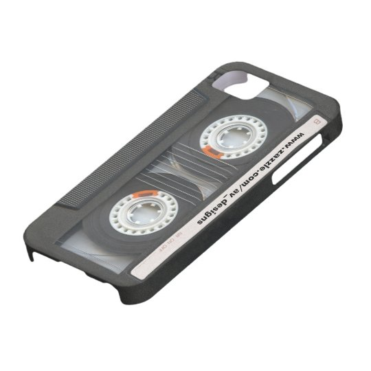 Custom Cassette Mixtape Barely There iPhone 5 Case