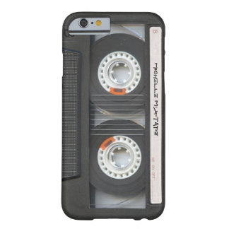 Custom Cassette Mixtape Barely There iPhone 6 Case