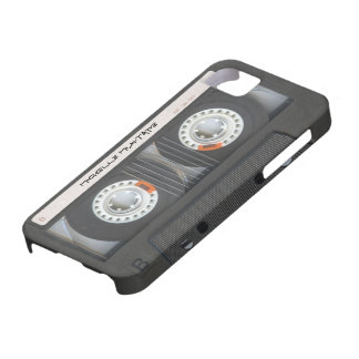Custom Cassette Mixtape iPhone 5 Case