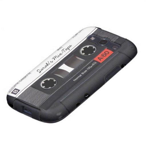 Custom Cassette Tape Samsung Galaxy S3 Cases