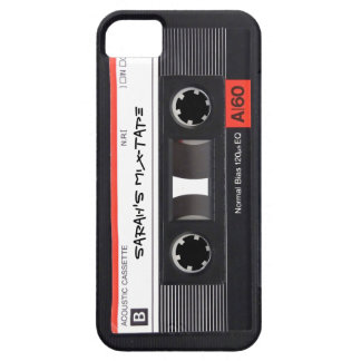 Custom Cassette Tape iPhone 5 Case