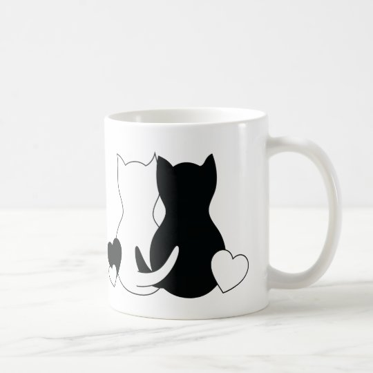 Custom cat love mug Personalised Name Cat lover