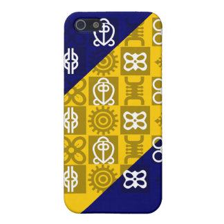 Custom cell phone covers with African symbols iPhone 5 Case