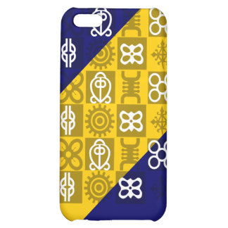 Custom cell phone covers with African symbols Cover For iPhone 5C