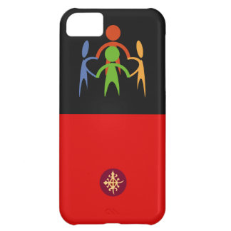 Custom cell phone covers with symbol of unity case for iPhone 5C