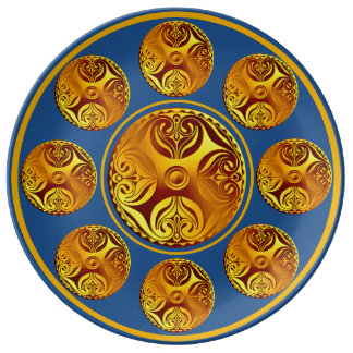 Custom Celtic Art Collectible Plate