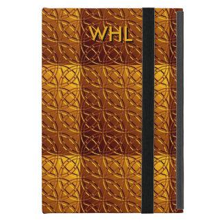 Custom Celtic Gold iPad Mini Case