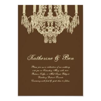 Custom Chandelier Wedding Invitations