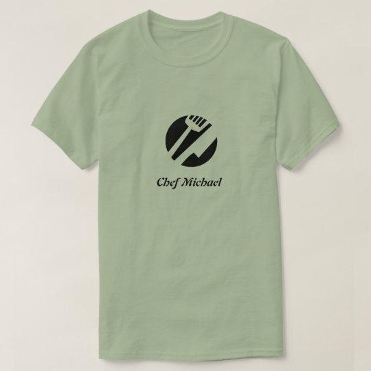 Custom chef name kitchen design T-Shirt