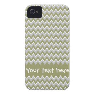 Custom Chevron Pattern iPhone 4 Case-Mate