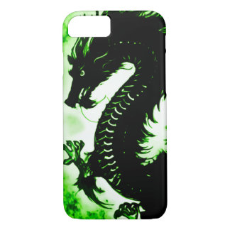 Custom Chinese Earth Dragon Fantasy Art Nouveau iPhone 7 Case