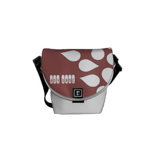 custom choose any name colour small shoulder bag messenger bags