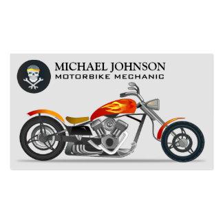 Custom Chopper | Motorbike | Motorcycle Repair Pack Of Standard Business Cards