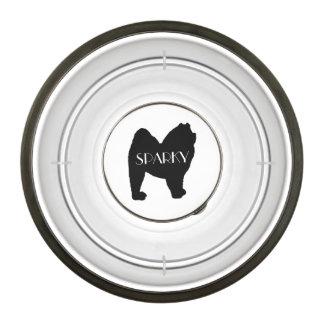 Custom Chow Chow Breed Dog Bowl
