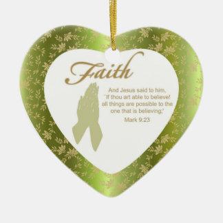 Custom Christian Ornaments - Heart