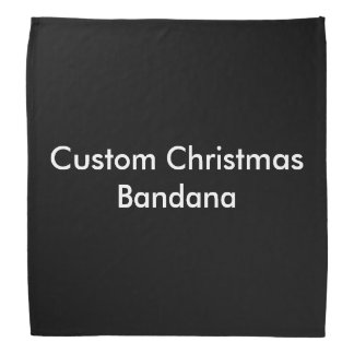 Custom Christmas Bandana