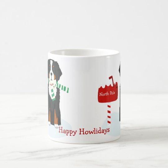 Custom Christmas Bernese Mt Dog Letter To Santa