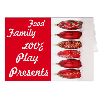 Custom Christmas Greetingcard Greeting Card
