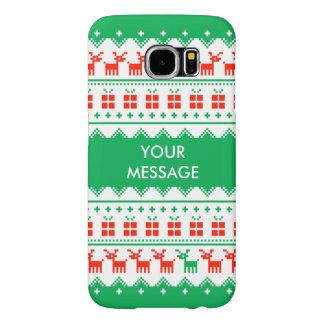 Custom Christmas Jumper Reindeer iPhone Case