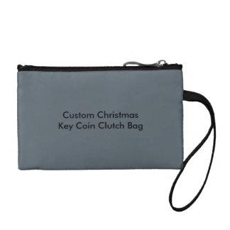 Custom Christmas Key Coin Clutch