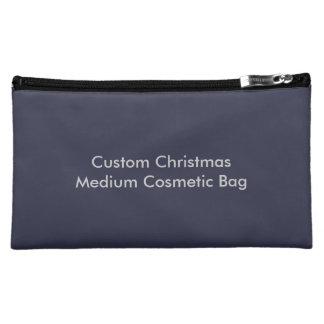 Custom Christmas Medium Cosmetic Bag
