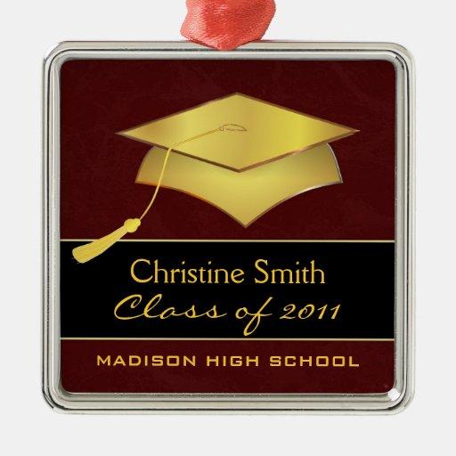 Custom Christmas Ornament - Graduation Gift