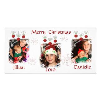 Custom Christmas Ornaments Photo Cards
