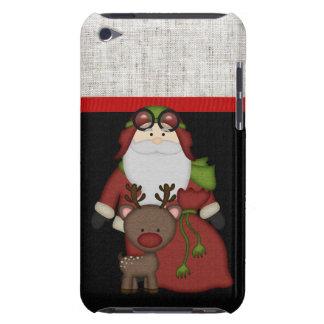 Custom Christmas Santa iPod Case-Mate Cases