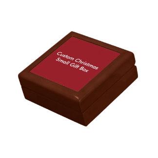 Custom Christmas Small Gift Box