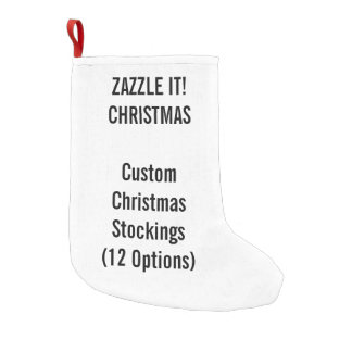 Custom Christmas Stocking SMALL 1-sided Print