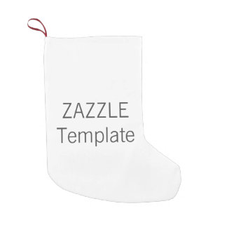 Custom Christmas Stocking SMALL 2-sided Print