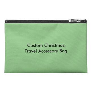 Custom Christmas Travel Accessory Bag