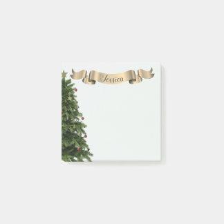 Custom Christmas Tree Post-it® Notes