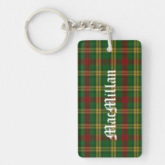 Custom Clan MacMillan Tartan Plaid Key Chain